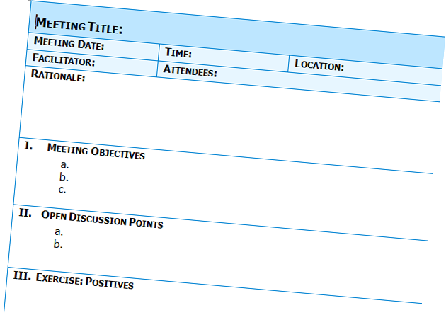 Doc598540 Free Minutes Template Free meeting minutes template – Minute Templates Free
